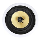 "8"" Contractor Series Coaxial Kevlar® Ceiling Speaker"